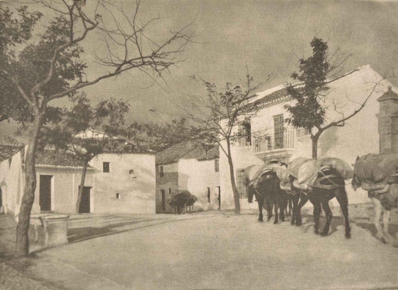 1914. Площадь, Ронда