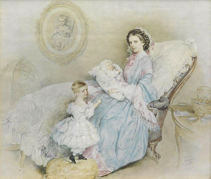 Kriehuber_Kaiserin_Elisabeth_mit_ihren_Kindern_1858.jpg