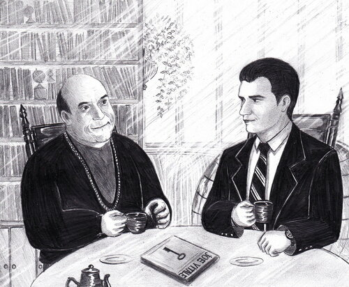 Joe Vitale and Archy