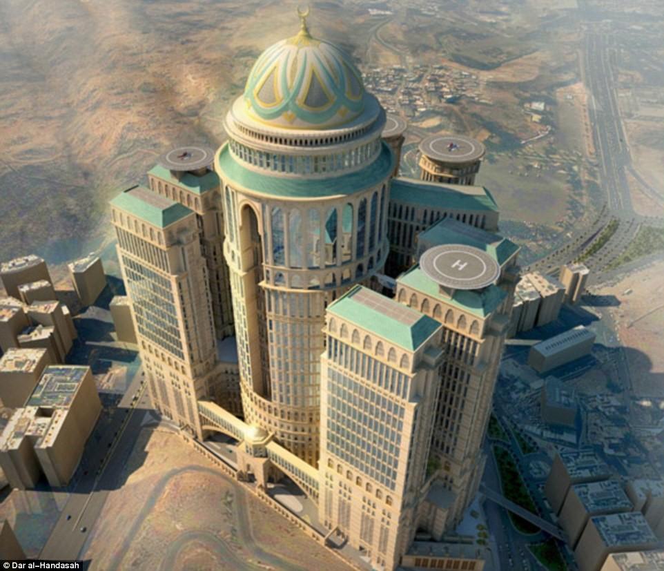 В Мекке строится самый большой отель мира