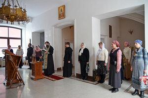 Лития о упокоении  Нины Павловны Саблиной