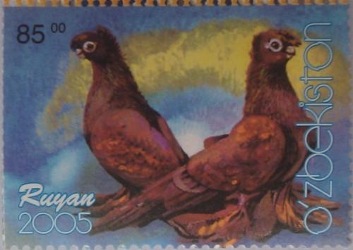 узбекистан 2005 голуби 85