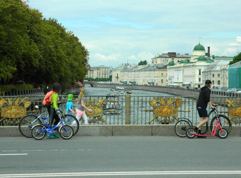 Фонтанка к северу от Пантелеймоновского моста