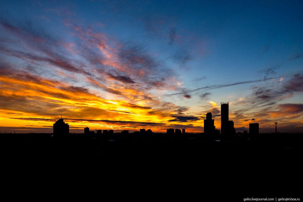 Екатеринбург с высоты: город, растущий вверх