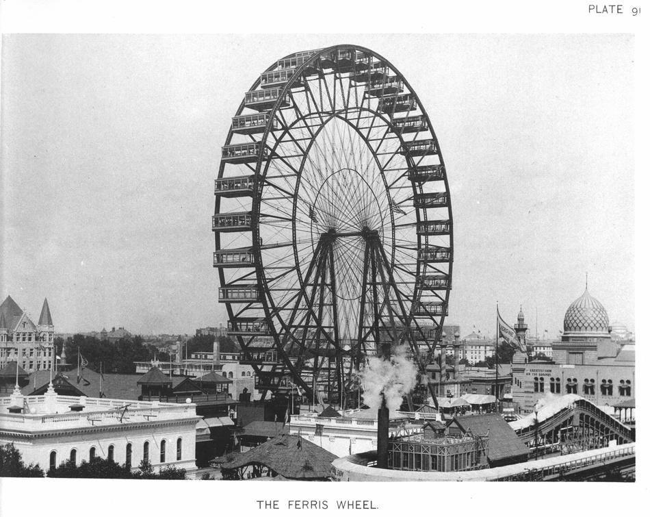 Конструкция весила около 2 тысяч тонн, а ее диаметр равнялся 75 метрам. Она была выше всех построенн