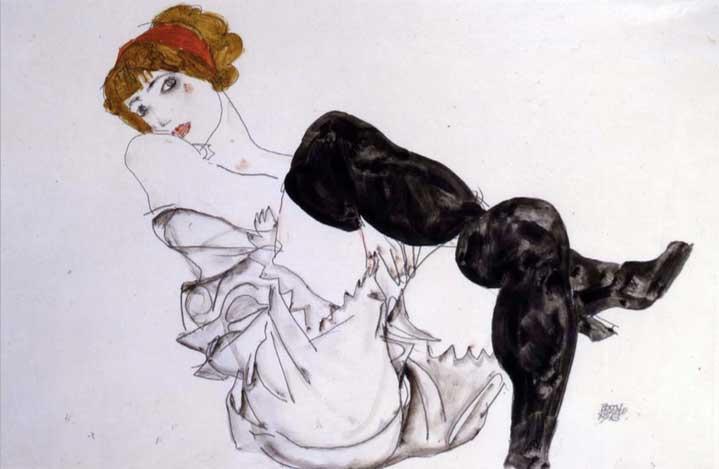 Некоторые воспринимают искусство Шиле как нечто гротескное, эротическое, порнографическое или возмут