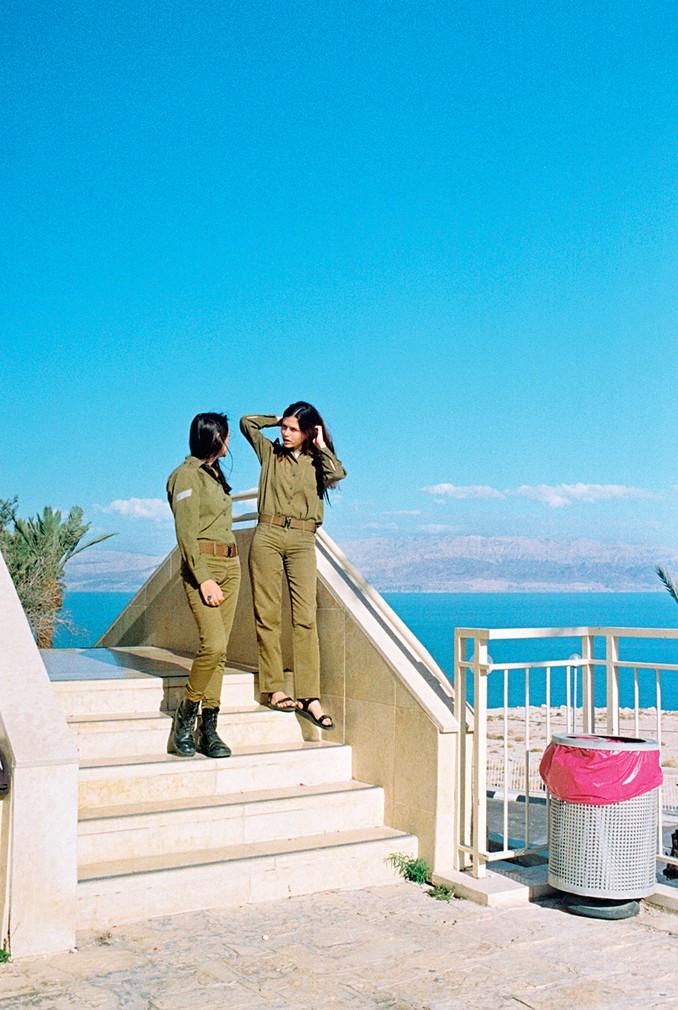 Ориан на пляже в Тель-Авиве
