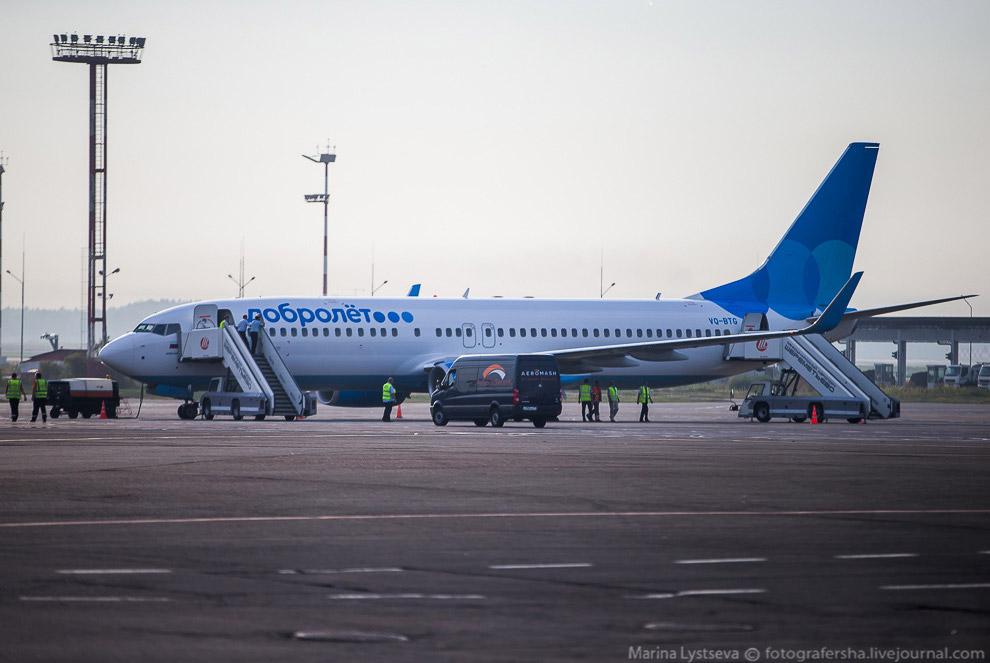 4. Первый рейс авиакомпании Добролет в Волгоград был совершен практически при полной загрузке.