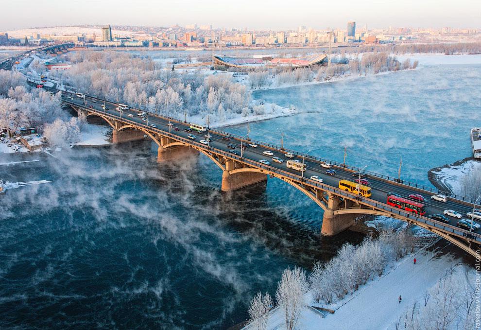 Заповедник « Красноярские столбы ». О них уже был репортаж. (Фото Вадима Махорова):