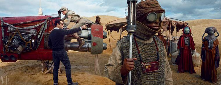 Star Wars VII: The Force Awakens - The first photos from the set unveiled