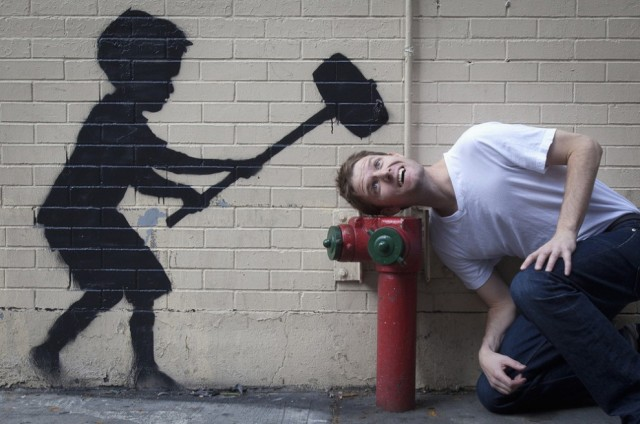 Society Seen Through The Prism of Banksy Art (31 pics)