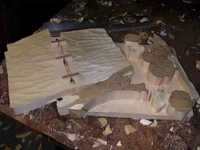 Hyperrealist Wooden Sculptures - Randall Rosenthal