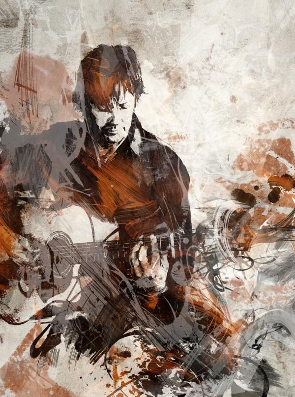 Illustrator – Portrait Artist – Joshua Miels (10 pics)