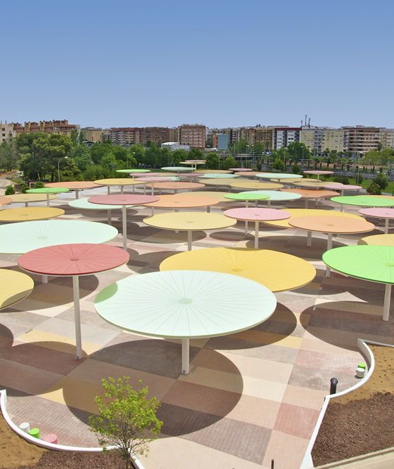 Paredes Pino - Urban Installation - Cordoba, Spain