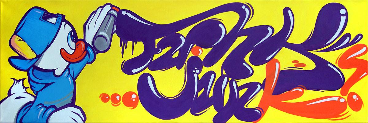 Graffiti Artist - Tobe Colorblind