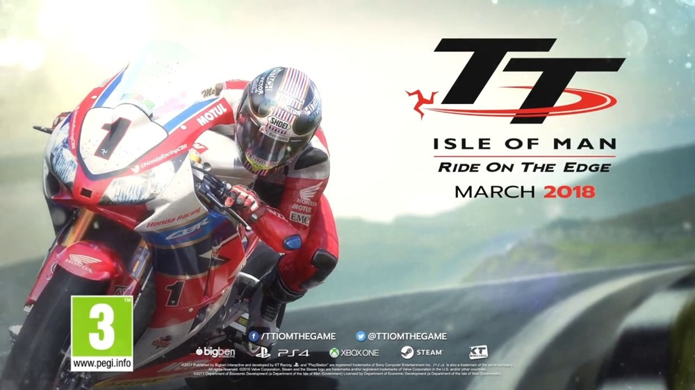 TT Isle of Man: Ride on the Edge (трейлер)