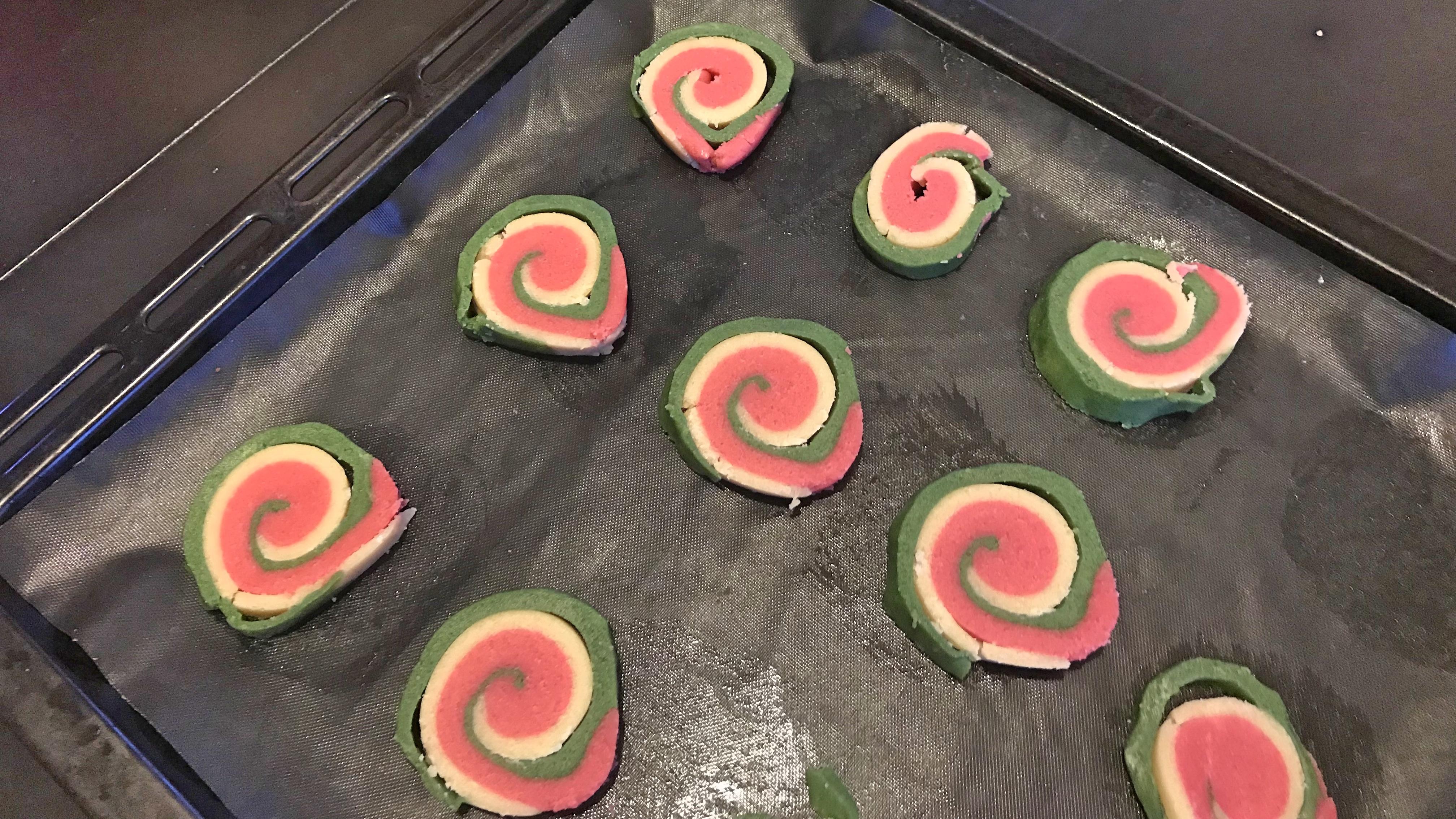 Печенья Рождественские арбузики