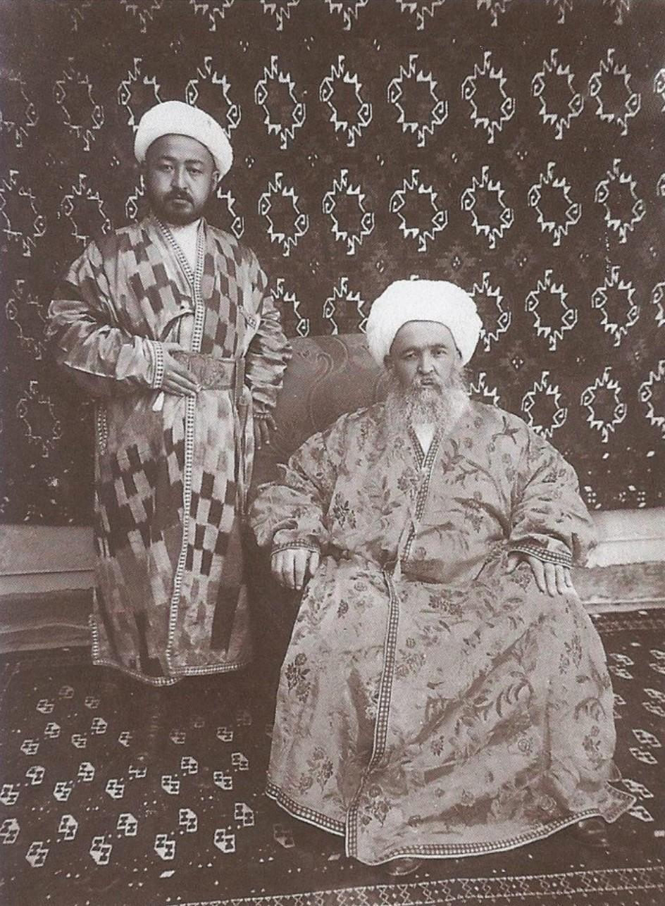 Бухарская зажиточная семья. 1916