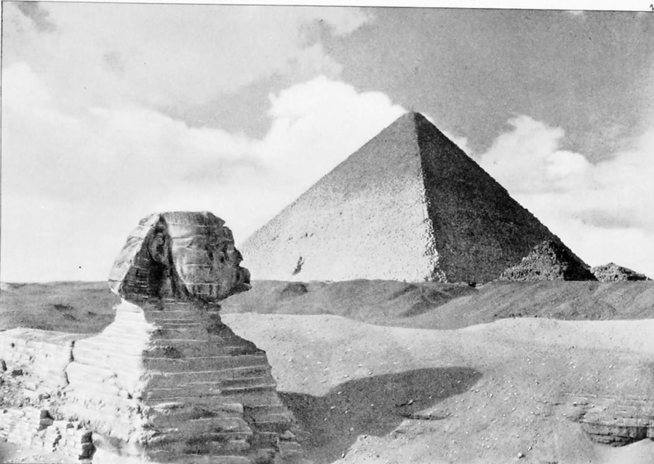 Гиза. Великая пирамида и Сфинкс
