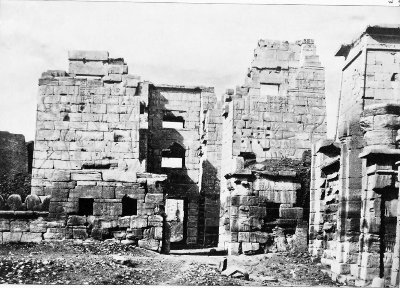 Мединет-Абу. Павильон Рамсеса III