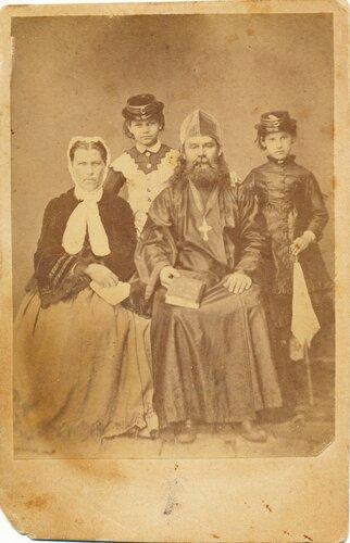 "Фото деда моей ""бабы Нины"" с семьей"