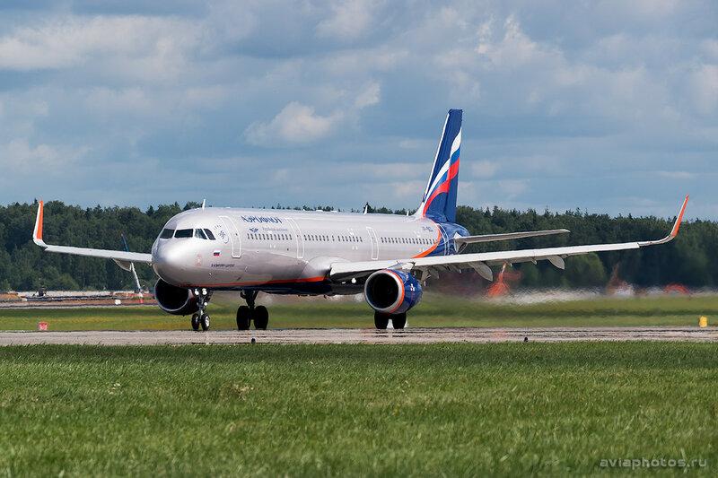 Airbus A321-211 (VP-BEG) Аэрофлот 0103_D803098