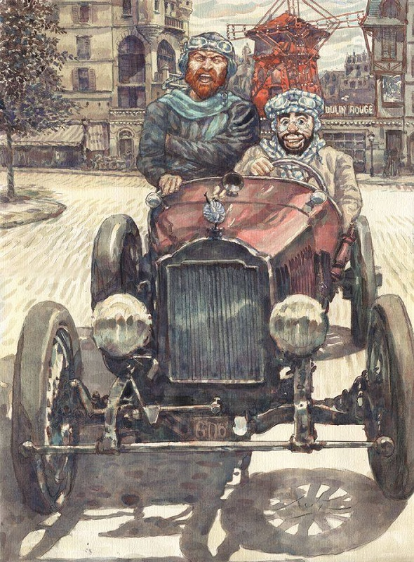 Ван Гог и Тулуз-Лотрек