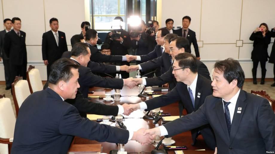 Сеул и Пхеньян на следующей неделе планируют обсудить детали поездки делегации КНДР на Олимпиаду