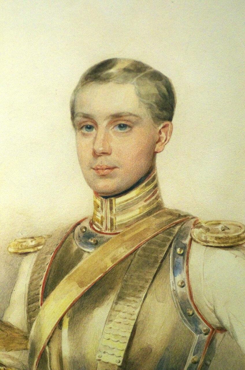 Петр Федорович Соколов. Портрет Г.И. Черткова. 1847. ФРАГМЕНТ