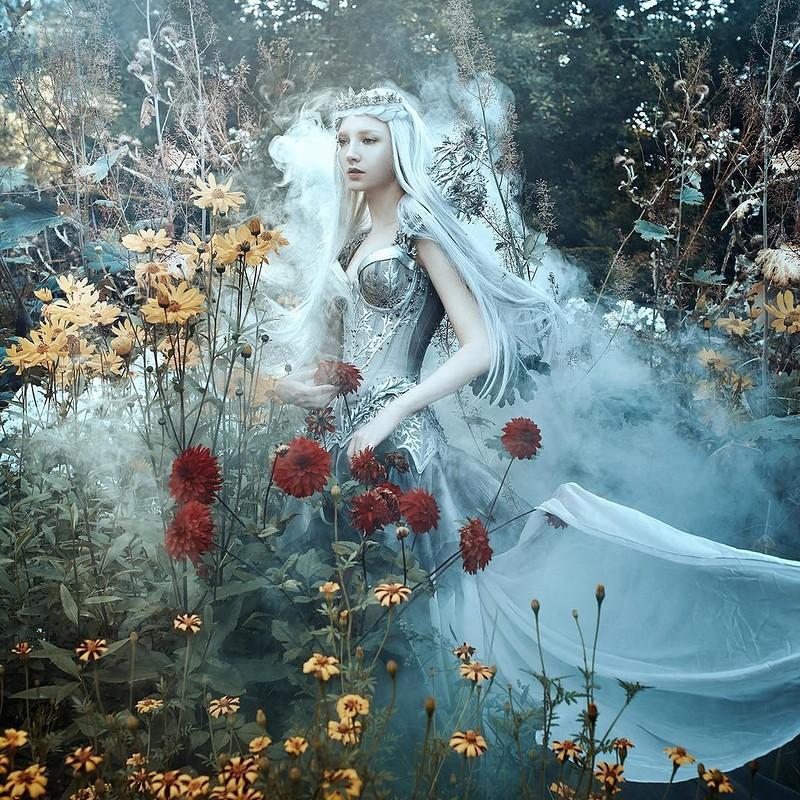 0 17e87e 4b723996 orig - Магические портреты девушек от Беллы Котак