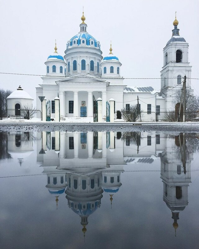 Духовская церковь (1853), с. Новое, Ярославская область