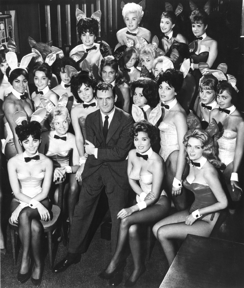 4. Хефнер, кроме всего прочего, был еще и неплохим художником и архитектором. «The Playboy Town Hous