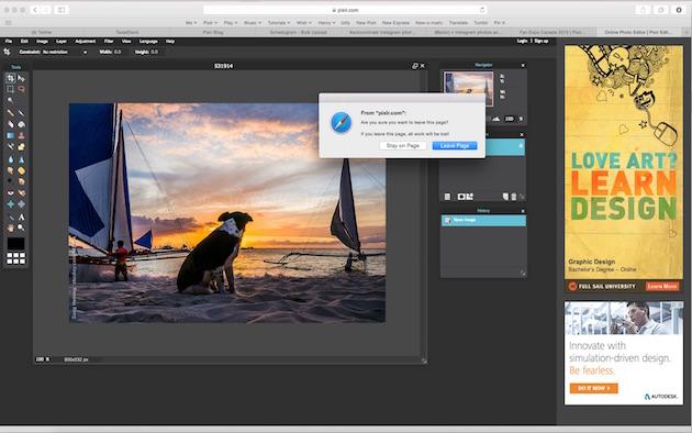 Pixlr разрабатывается Autodesk — производителем таких продуктов, как AutoCAD, Maya и 3DS Max.
