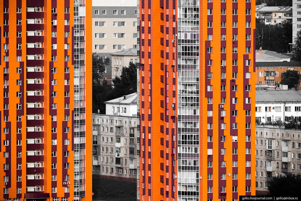 45. Кемерово стал одним из первых городов страны, где в 2007 году построили небольшой участок (3,8 к