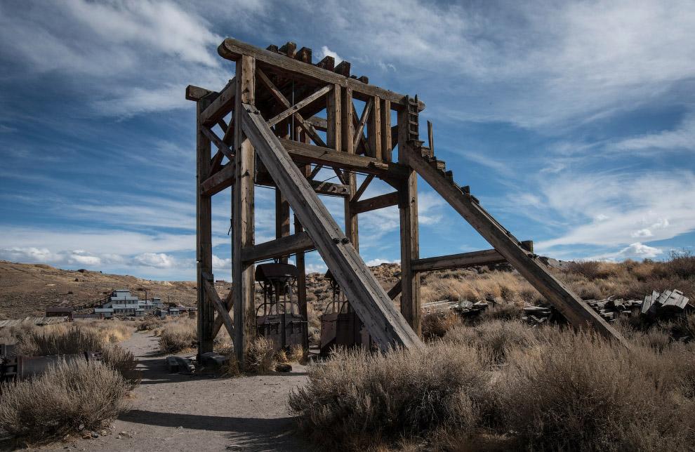 10. Боди считается  наиболее сохранившимся городом-призраком США . (Фото Matthew Chri