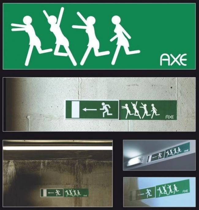 © axe     Axe effect вдействии.    1. Реклама бритвы SCHICK