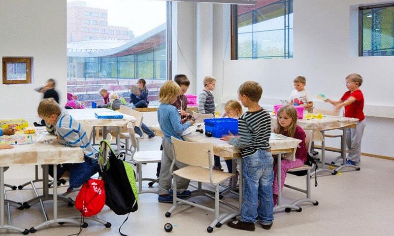 Образование в Финляндии: полный релакс для психики школьника и учителя (1 фото)