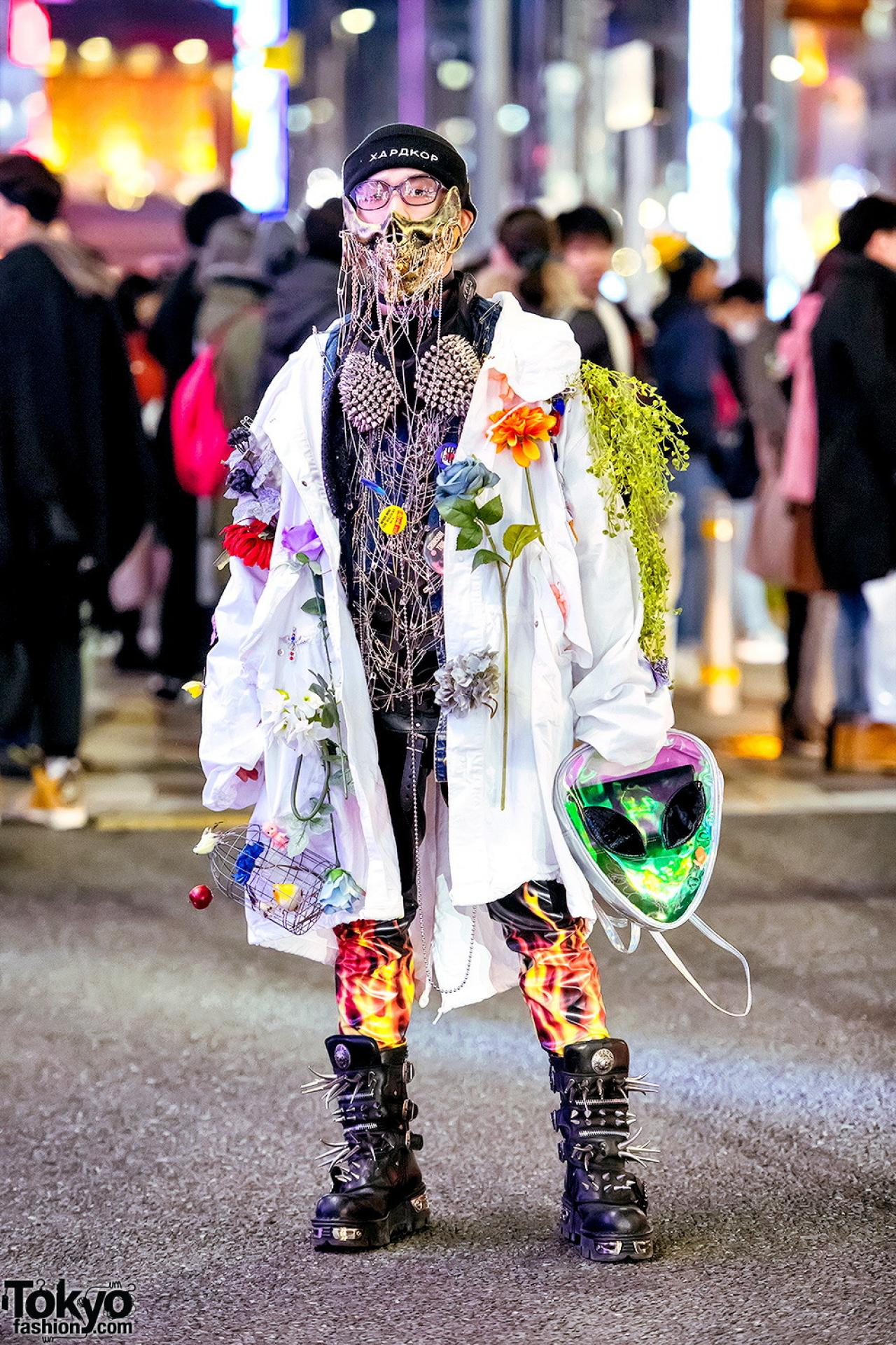 Японские модники могут удивить кого-угодно (31 фото)