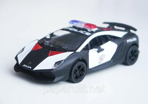 Kinsmart Lamborghini Sesto Elemento Police