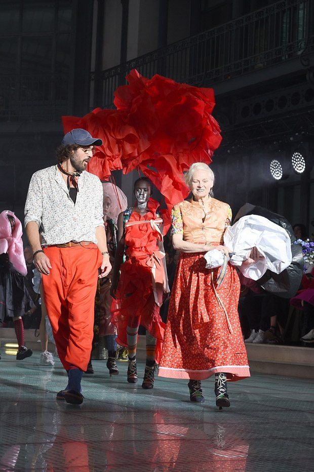 Images courtesy of Vivienne Westwood.    We love hearing from you, connect with us on Twitter ,