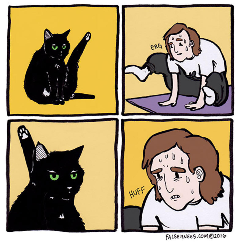 He reveals the secret life of animals in hilarious comics (25 pics)