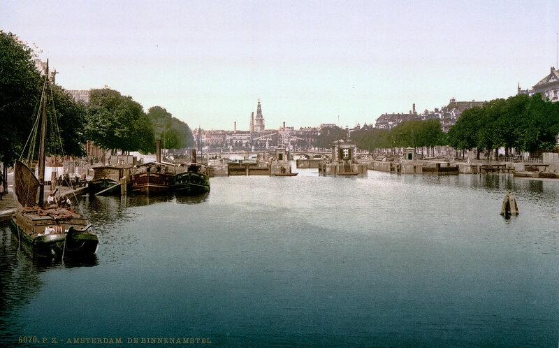 Внутренний Амстел в конце XIX века