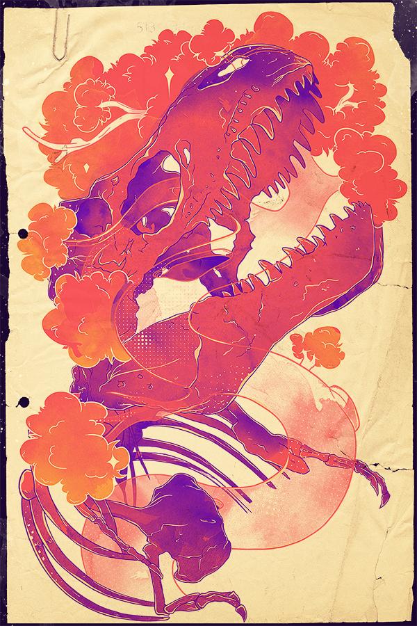 Amazing Illustrations by Emile Kumfa