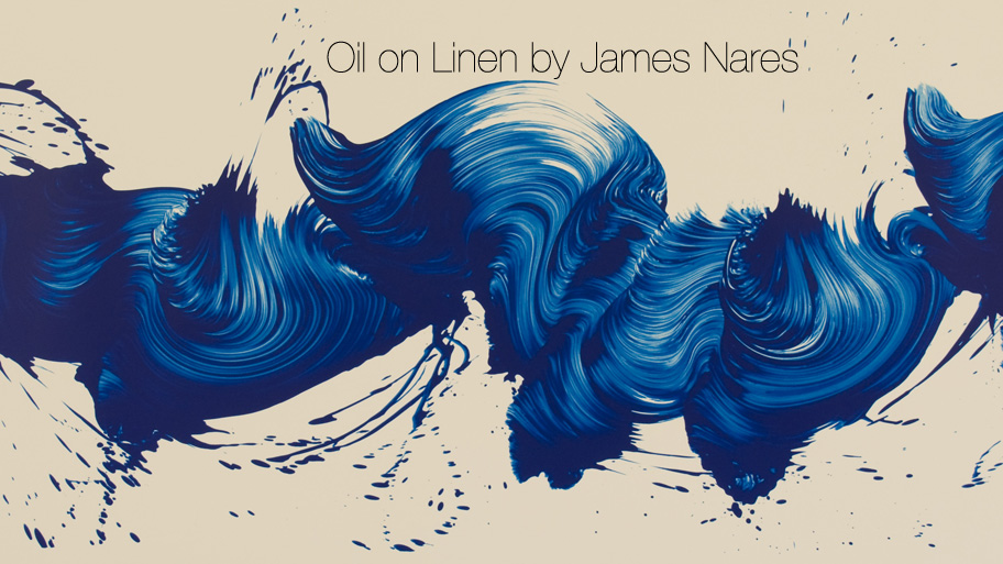 Oil on Linen by James Nares (15 pics)