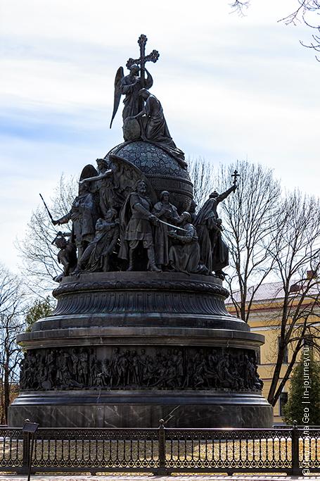 памятник тысячелетие россии фото