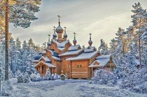 В природе зимней: сказка тишины - нежна, морозна, серебриста...