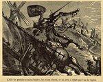 «Don Quixote» 1887 Illustrator Jules Pelcocq