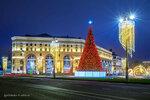 Новогодняя елка на Лубянской площади