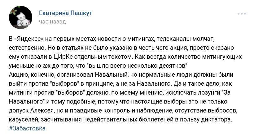 Забастовка Навального 28.01.2018 - 14