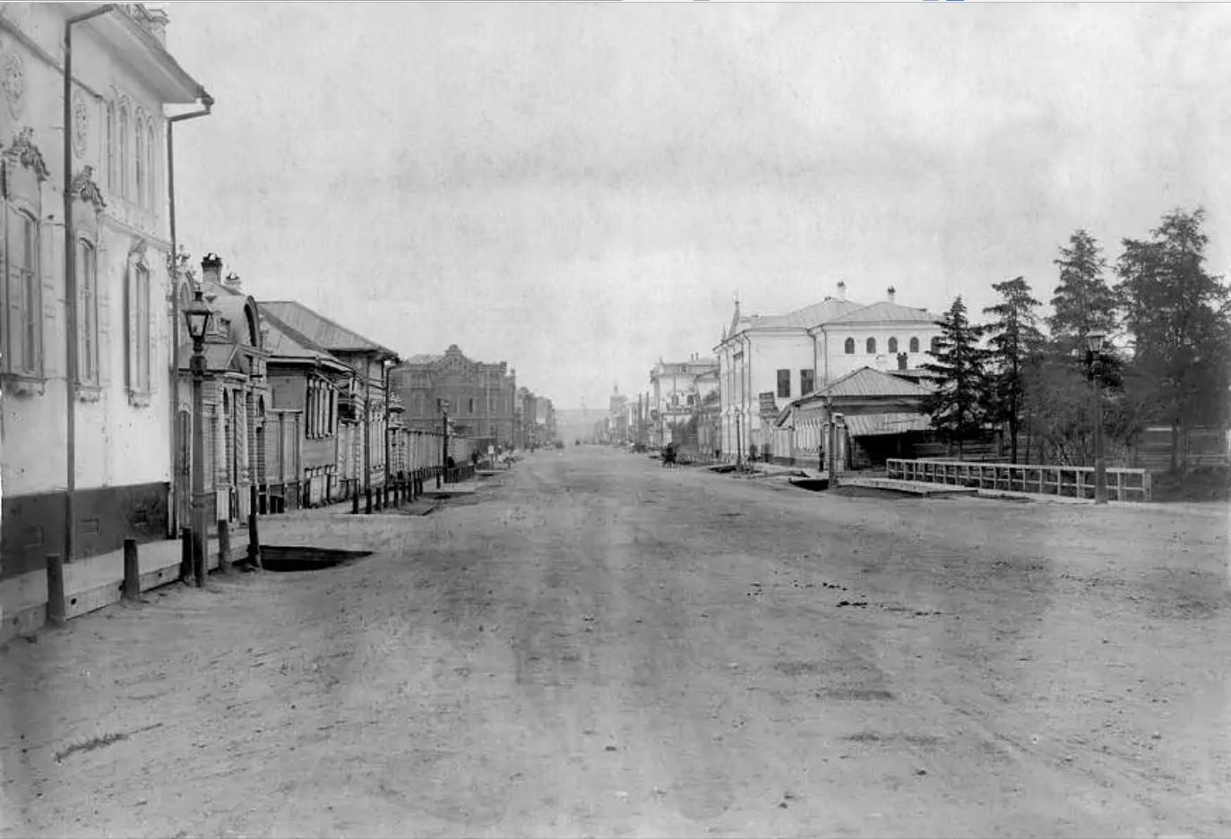 Улица Большая в сторону Ушаковки